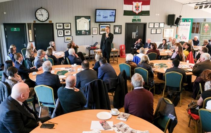 Discover Harlow Ambassador Meeting at Harlow Cricket Club