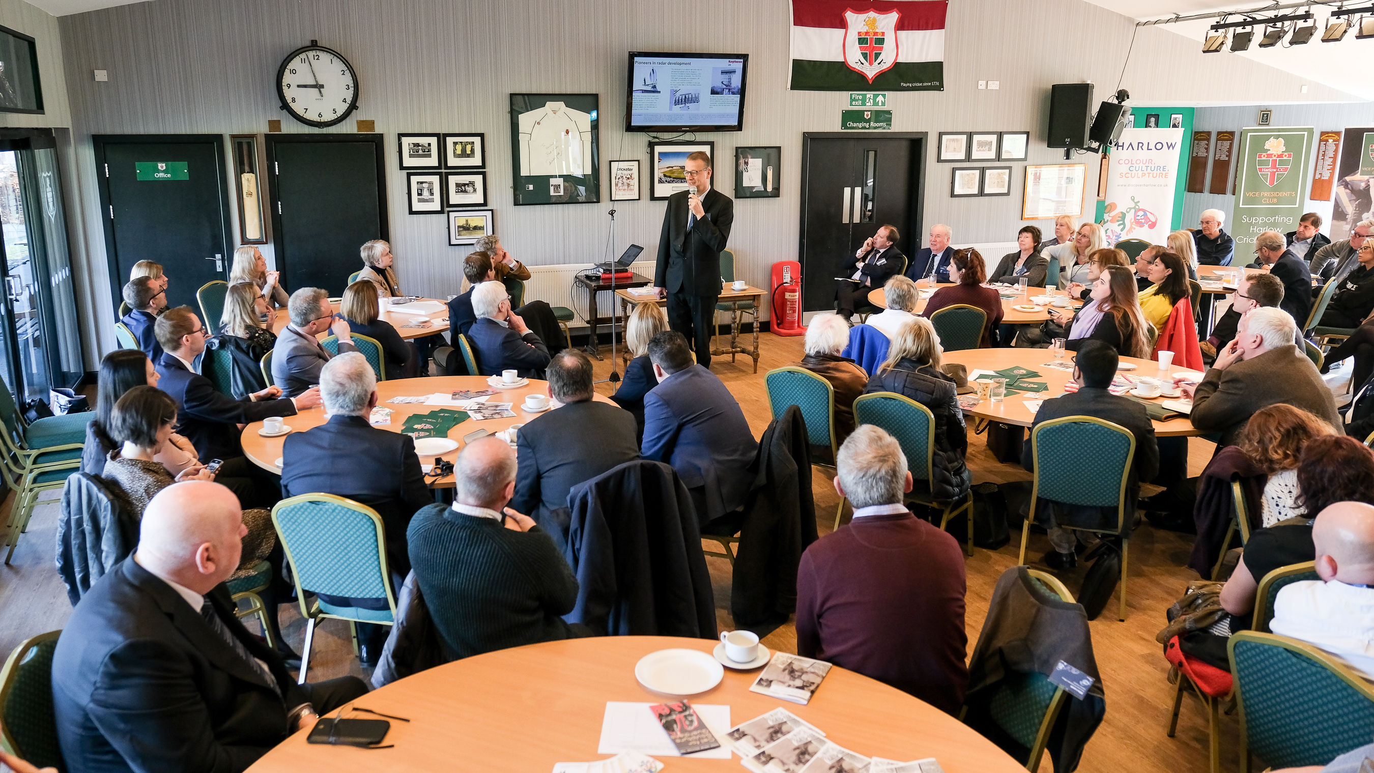 Discover Harlow Ambassador Meeting at Harlow Cricket Club