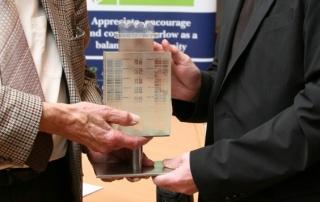 Harlow Architectural Design Awards trophy