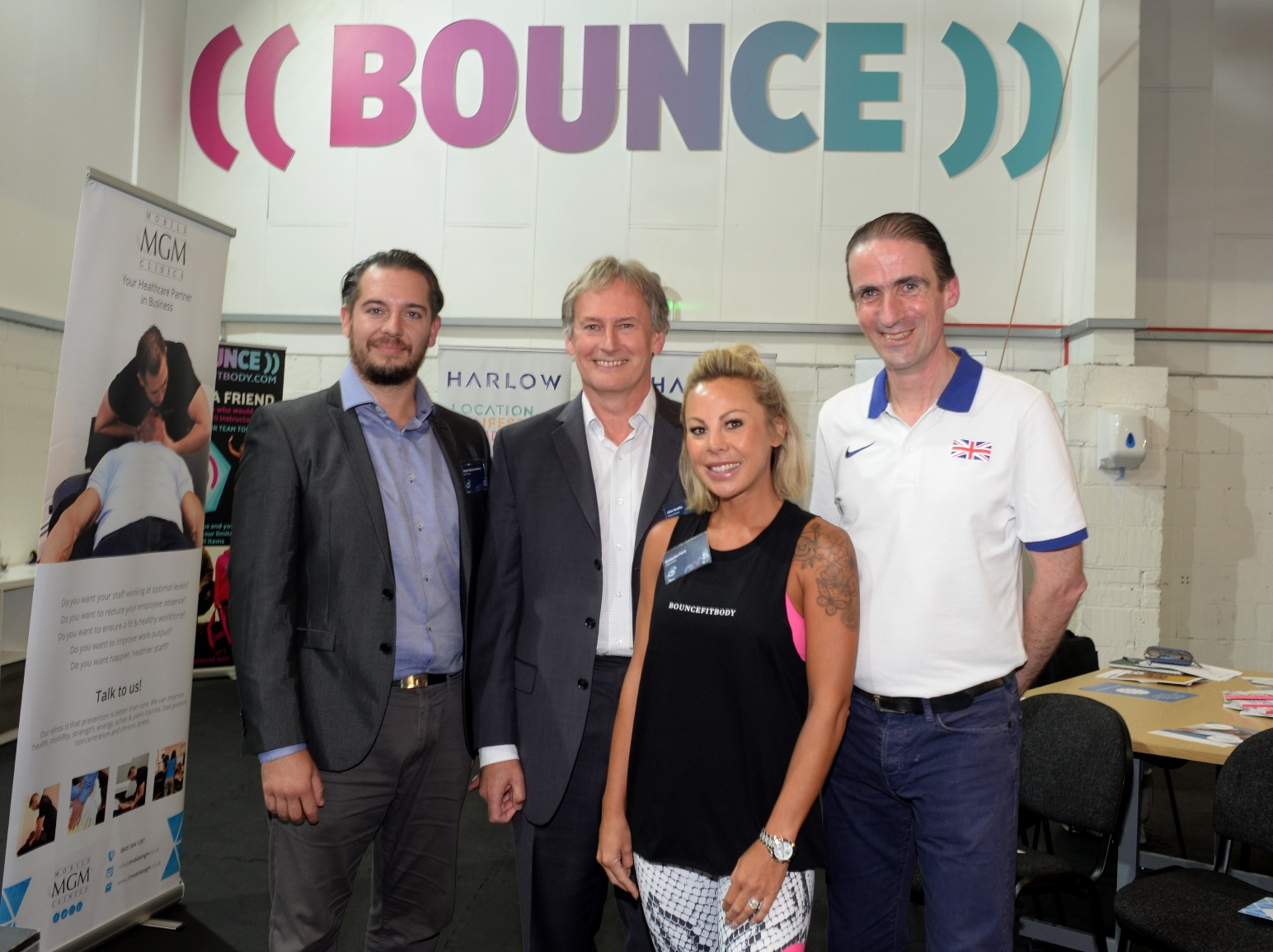 Harlow Ambassador Meeting at BOUNCE HQ