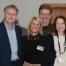 John Keddie, Sandra Wright, Dr William Lawton and Jemma Mindham at the Sixth Harlow Ambassador meeting