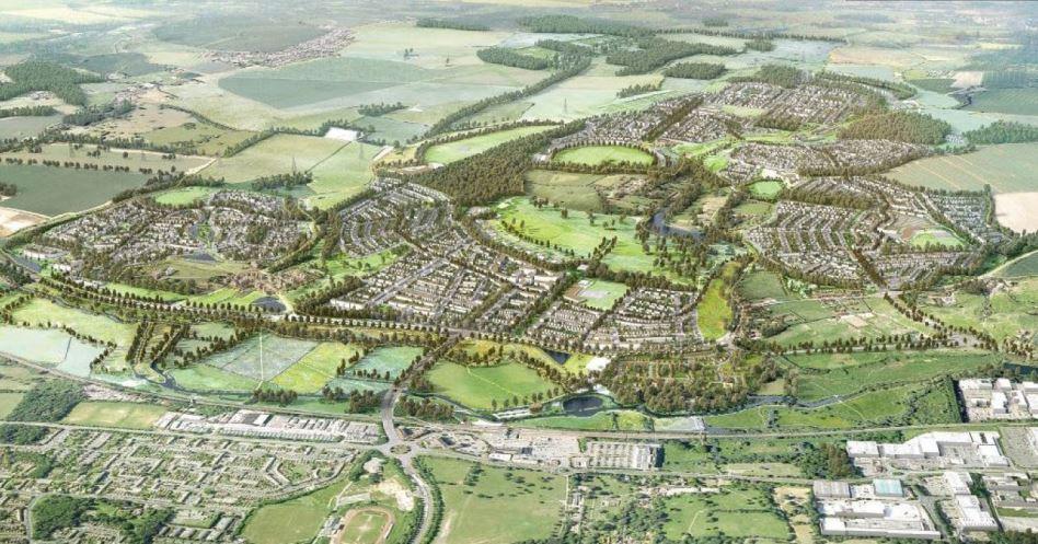 Gilston Park Estate masterplan